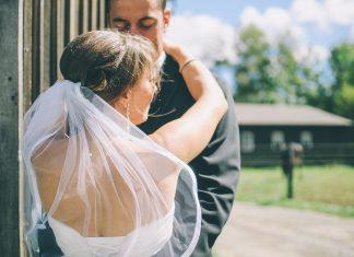 הכנה לצילומים - רגע לפני החתונה